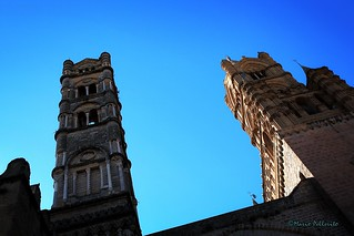 Towers in the sky