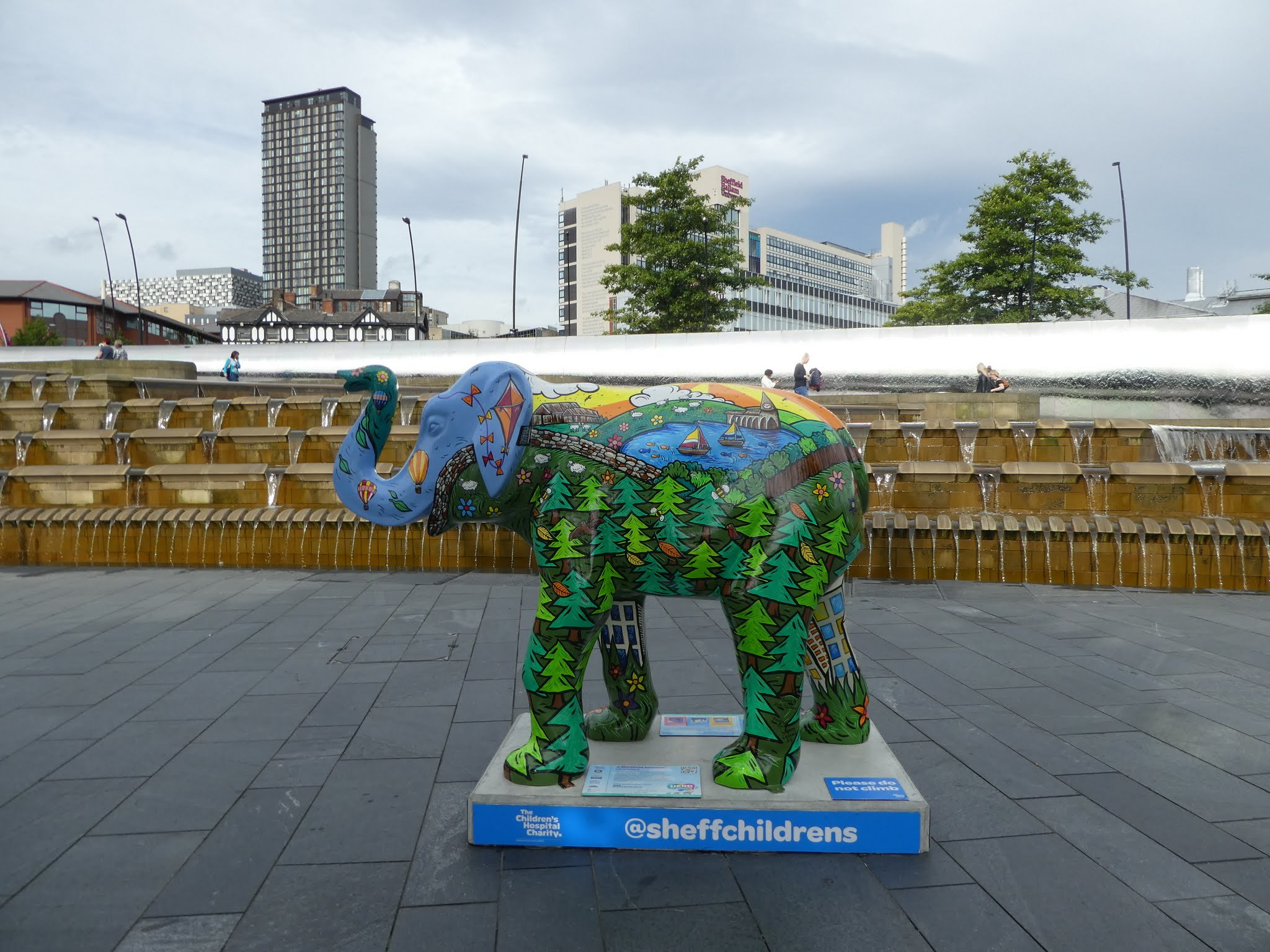 Herd of Elephants, Sheaf Square, Sheffield
