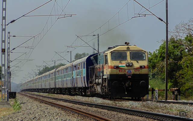 Balaji Express | Kalyan WDG 4