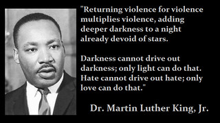 MLK--Nonviolence | by Paulsasleepwalker