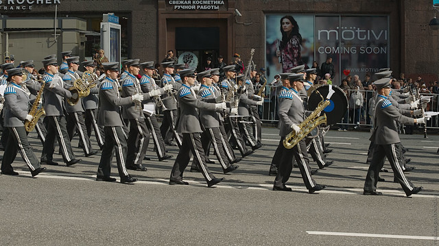 The conscript band of the Finnish defence forces(RUS11779)
