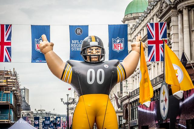 NFL on Regent Street.