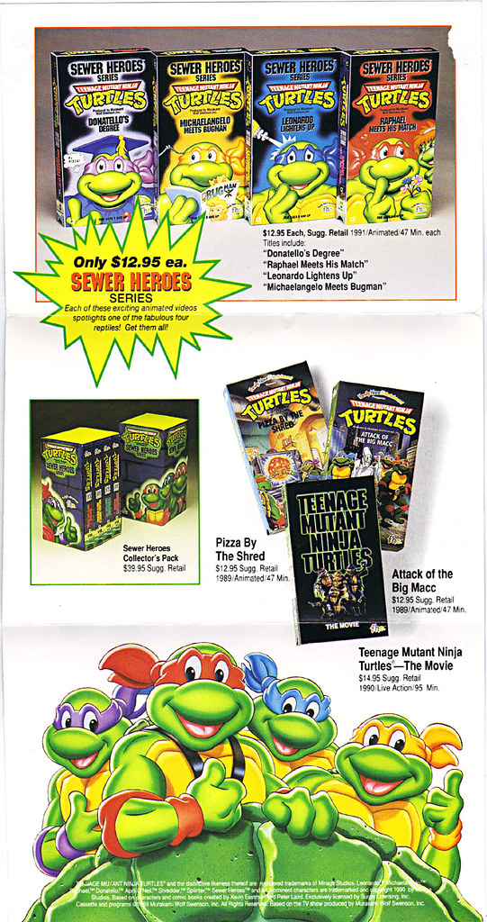 "Family Home Entertainment :: ""THE BEST IN CHILDREN'S ENTERTAINMENT""  promo flyer ii (( 1991 )) by tOkKa"