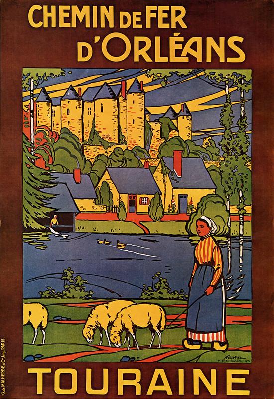 Chemin de Fer d'Orleans, poster