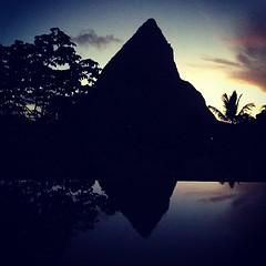 #stlucia #dusk #sunset #honeymoon