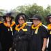 The women of the ʻAhahui Kaʻahumanu were among the organizational representatives at the grand opening of Haleʻōlelo, the new home of the UH Hilo's Ka Haka 'Ula O Ke'elikōlani College of Hawaiian Language.