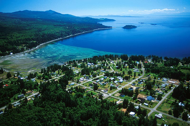 Texada Island, Strait of Georgia, British Columbia, Canada