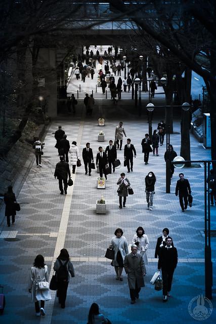 West Shinjuku.