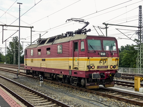 371 001-9 ČD 'Lucka' Dresden Hbf 27.07.10 | by Paul David Smith - Epping