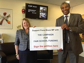 Fairer Funding Congleton High School | by Fiona Bruce MP
