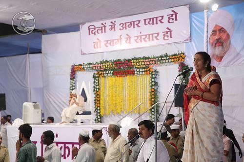 Sonali Kale from Palasdev, expresses her views