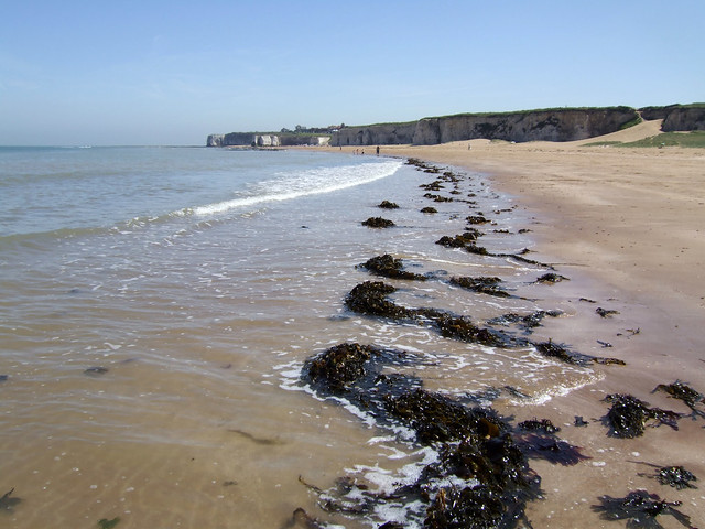 The coast at Cliftonville
