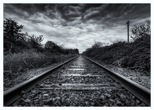 Old Abandoned Rail Line