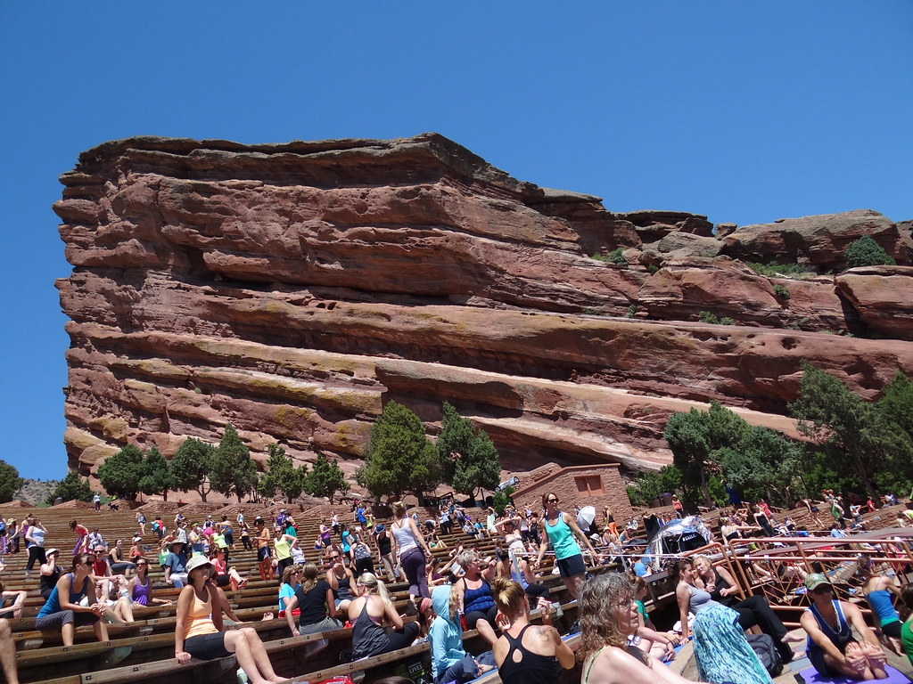 Franti Yoga At Red Rocks Shannon Mcgee Flickr
