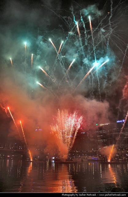 Darling Harbour Fireworks, Sydney, Australia