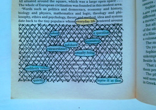 Everyday Life (blackout poetry) | by allisongryski