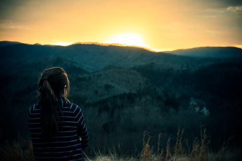 sunset landscape showcase
