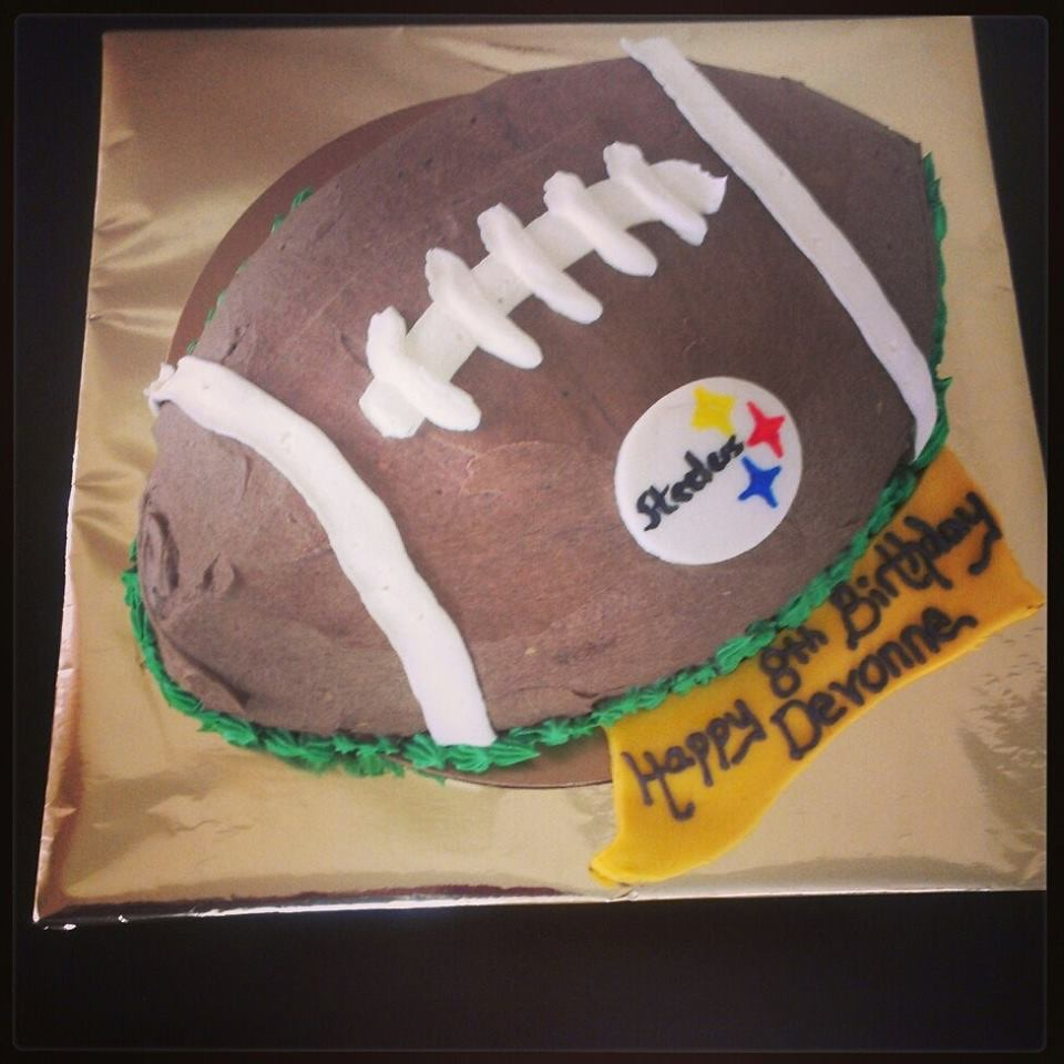 Excellent Steelers Cake Pittsburgh Pa Birthdaycakes4Free Com Flickr Funny Birthday Cards Online Aeocydamsfinfo