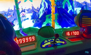 999999 on Buzz Lightyears Space Rangers Spin | by Mickey Views