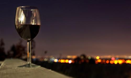 saratoga night wine glass hdr 1xp raw nex6 sel50f18 photomatix fav100 california siliconvalley wineglass sanfranciscobay