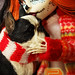 """Flickr Advent:Dolls&Toys Dec 5-""""No Mistletoe required"""" by SwaggyWiggums"""
