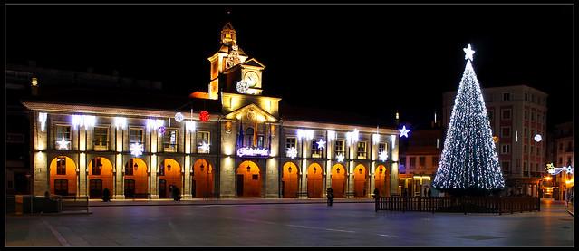 Ayuntamiento de Avilés en Navidad