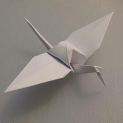 วิธีพับกระดาษเป็นรูปนกกระเรียน 015