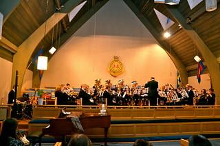 Centrumkåren i Göteborg - Åsenhöga Brass Band på besök