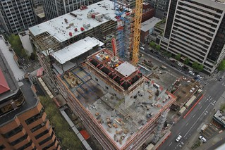 Hyatt Regency construction, April 2017 | by SounderBruce