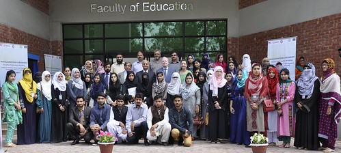 USAID Mission Director John Groarke Inaugurates Faculty of Education at the University of Punjab, Highlighting Education as a Key to Development and Human Rights | by USAID Pakistan