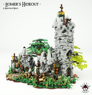 Lord Of The Rings: Eomer's Hideout -  by Barthezz Brick 5 | by Barthezz Brick