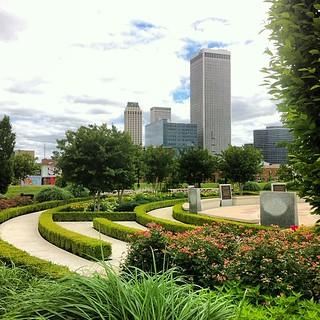 Healing Walkway, John Hope Franklin Reconciliation Park, Tulsa. | by dsjeffries
