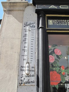 Stephens Inks thermometer