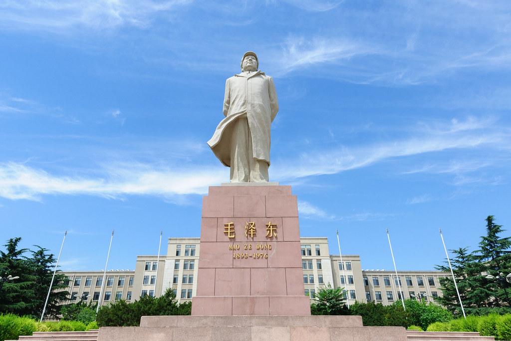Mao Tse-tung's statue at DUT