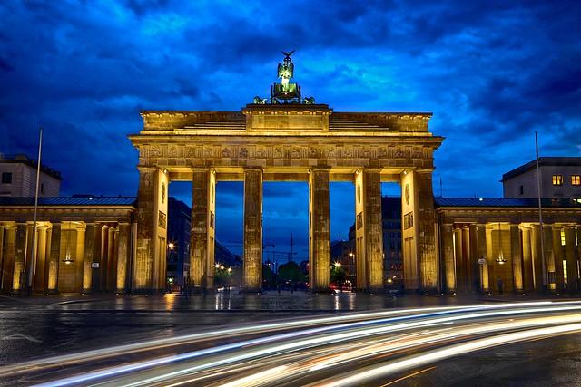 Brandenburg Gate & Blue Hour