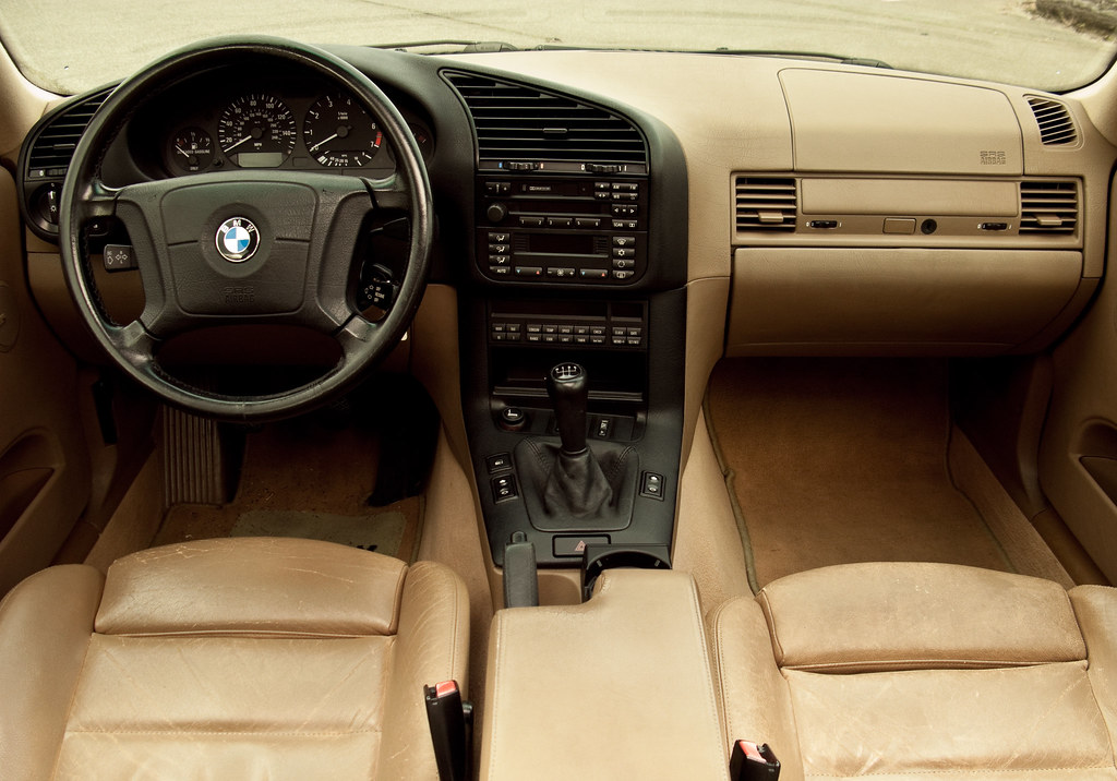 E36 BMW 328is Interior