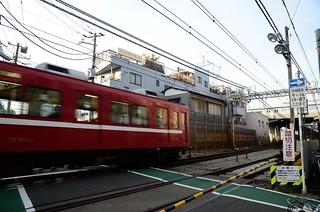 Keikyu 800 Series Train at Southwest of Namamugi Station | by ykanazawa1999