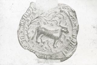'Vrijheid' zegel Oss 15e eeuw