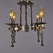 4 light - Spanish Revival Chandelier
