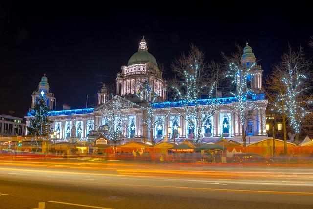 Belfast City Hall Christmas 2013