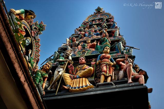 Sri Mariamman Temple ஸ்ரீ மாரியம்மன் கோவில் (Singapore)