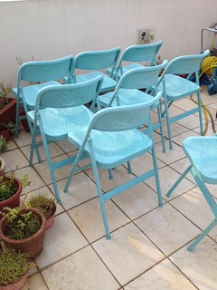 Excellent Ikea Frode Folding Chairs 8 In Total Some Rust Spots B Lamtechconsult Wood Chair Design Ideas Lamtechconsultcom