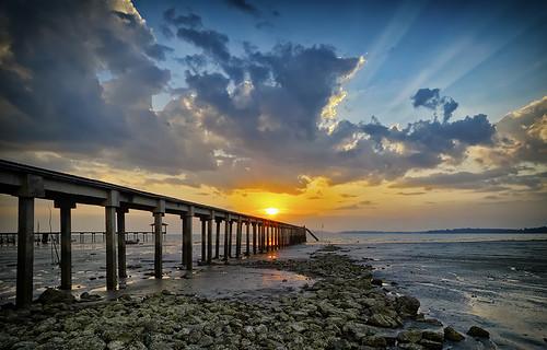 sunset seascape nature lanscape portdickson pasirpanjang hishammarmincom hishammarmin pentaxk5iis k5iis smcpda1224mmf4edalif