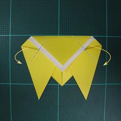วิธีพับกระดาษเป็นรูปจั้กจั่น (Origami Cicada) 006