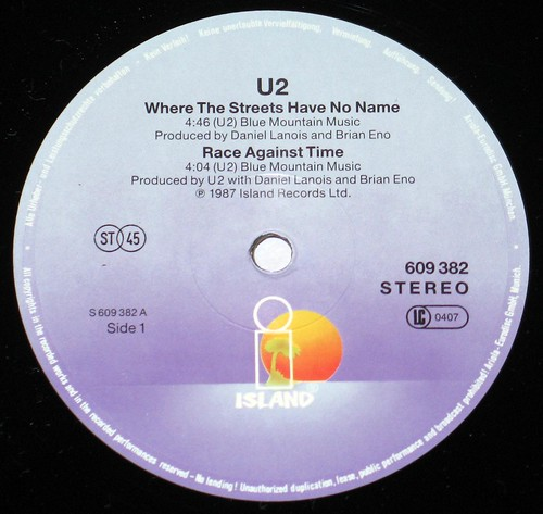 U2 Where the Streets Have no Name 12