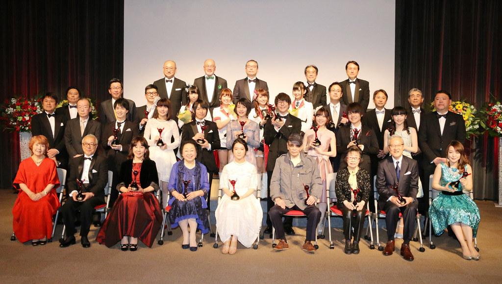 170319 -『第11回聲優獎』出爐:「大塚芳忠×潘めぐみ」是最佳男女配角、偶像團體Aqours勇奪最佳歌唱賞!
