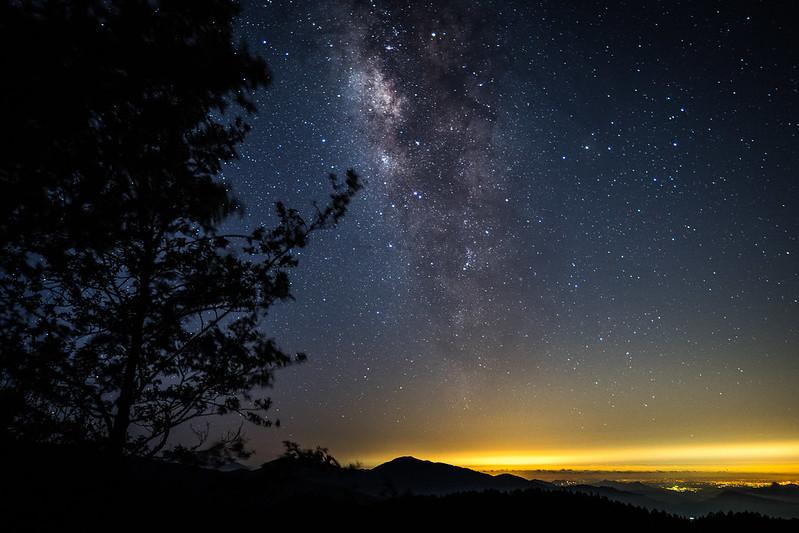Milky way 阿里山銀河 Alishan