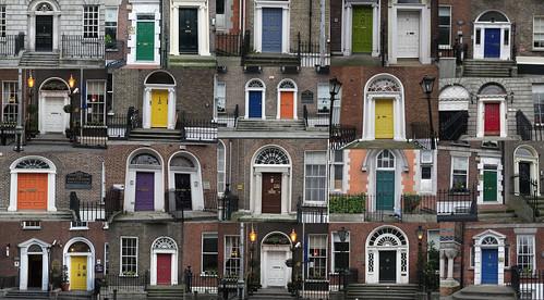 Dublin. Puertas de Colores | by patryps83