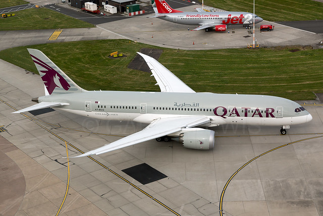 Qatar Airways Boeing 787-8 A7-BCO [MAN]