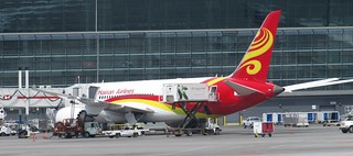 Hainan Airlines 787 Dreamliner at Calgary Airport | by Larry He's So Fine